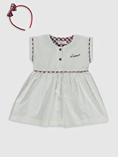 Luggi Baby Kız Bebek Elbise ve Taç