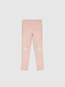 Kız Çocuk Skinny Gabardin Pantolon