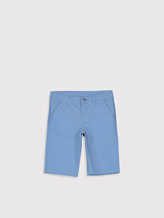 Mavi Erkek Çocuk Pamuklu Chino Roller