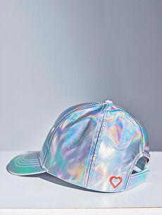 Kız Çocuk Hologram Şapka