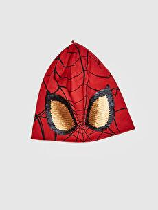 Erkek Çocuk Spiderman Lisanslı Pamuklu Jarse Bere
