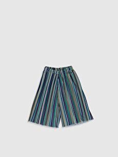 Kız Çocuk Pileli Pantolon