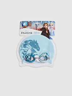 Kız Çocuk Frozen Deniz Gözlüğü ve Bone Takım