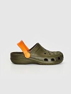 Haki Erkek Çocuk Sandalet