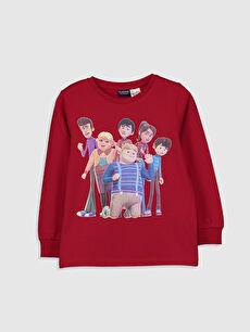 Erkek Çocuk Rafadan Tayfa Baskılı Pamuklu Tişört
