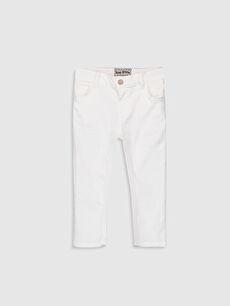 Skinny Fit Erkek Bebek Jean Pantolon