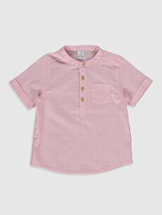 Erkek Bebek Hakim Yaka Gömlek