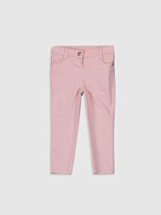 Kız Bebek Gabardin Pantolon