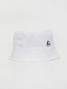 Erkek Bebek Kova Şapka