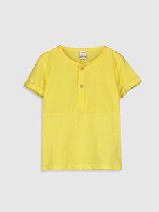 Erkek Bebek Pamuklu Baskılı Tişört
