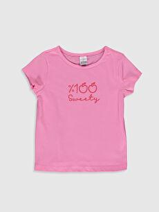 Kız Bebek Baskılı Tişört