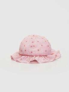 Kız Bebek Desenli Şapka
