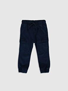 Erkek Bebek Jean Jogger Pantolon