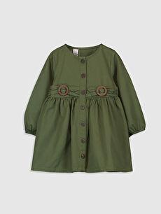 Kız Bebek Twill Elbise