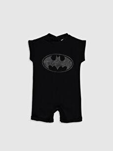 Erkek Bebek Batman Baskılı Tulum
