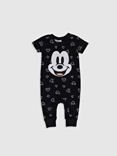 Erkek Bebek Mickey Mouse Baskılı