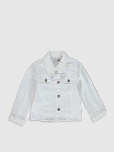 Kız Bebek Gabardin Ceket