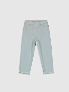 Kız Bebek Pamuklu Pantolon