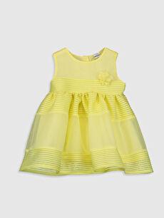 Sarı Kız Bebek Elbise
