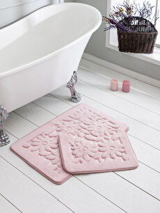 Kabartmalı Banyo Paspası 2'Li
