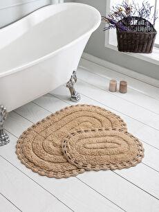 Dantelli Banyo Paspası 2'Li