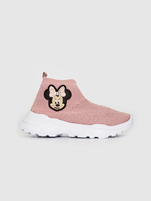 Kız Çocuk Minnie Mouse Lisanslı Çorap Model Ayakkabı - LC WAIKIKI