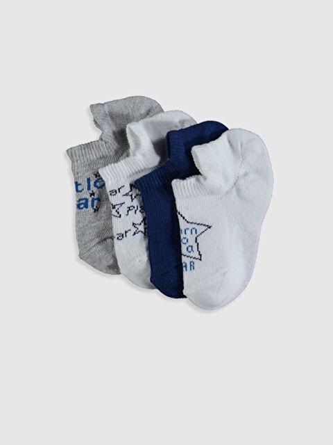 Erkek Bebek Babet Çorap 4'lü - LC WAIKIKI