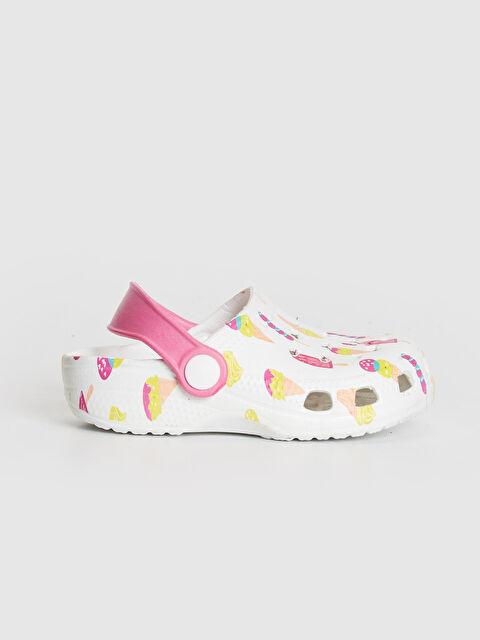 Kız Çocuk Baskılı Sandalet - LC WAIKIKI