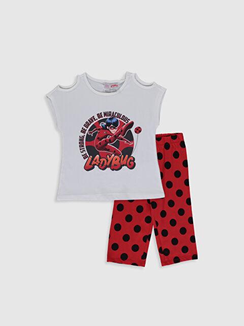 Kız Çocuk Miraculous Pamuklu Pijama Takım - LC WAIKIKI