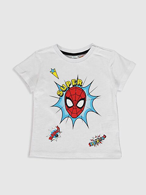 Erkek Bebek Spiderman Baskılı Tişört - LC WAIKIKI
