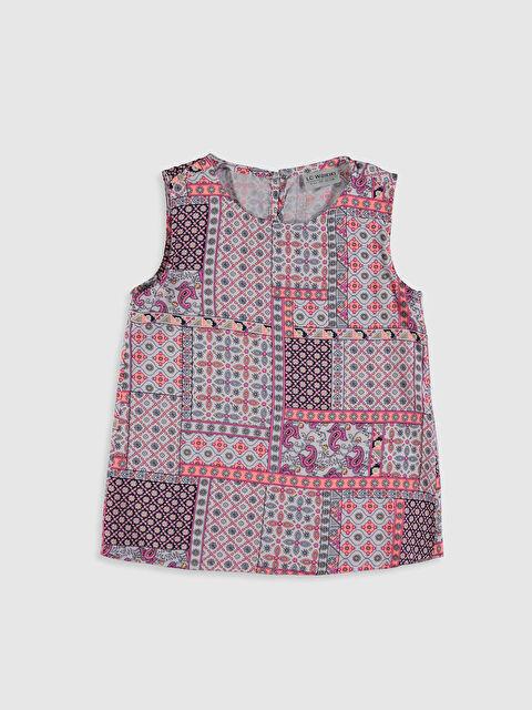 Kız Çocuk Desenli Bluz - LC WAIKIKI