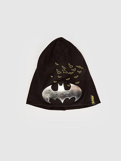 Erkek Çocuk Batman Lisanslı Örme Bere - LC WAIKIKI