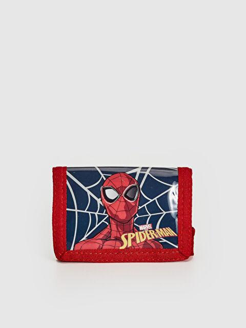 Erkek Çocuk Spiderman Lisanslı Cırt Cırtlı Cüzdan - LC WAIKIKI