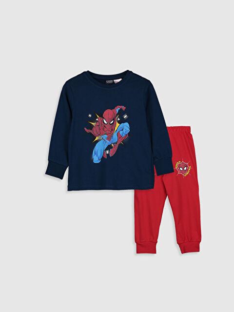 Erkek Çocuk Spiderman Pijama Takımı - LC WAIKIKI
