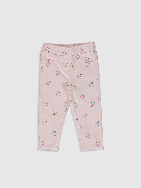 Kız Bebek Desenli Pantolon - LC WAIKIKI