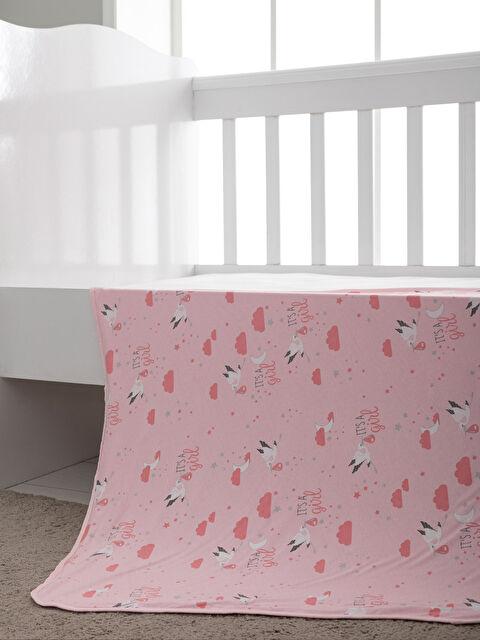 Kız Bebek Baskılı Battaniye - LCW HOME