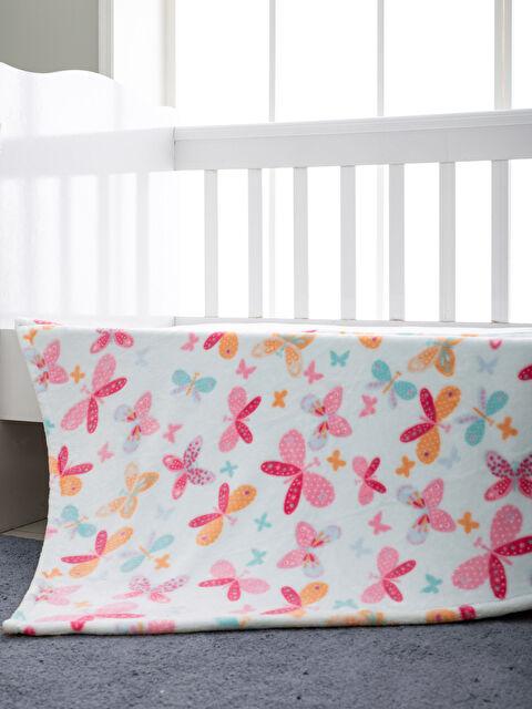 Kız Bebek Desenli Battaniye - LCW HOME