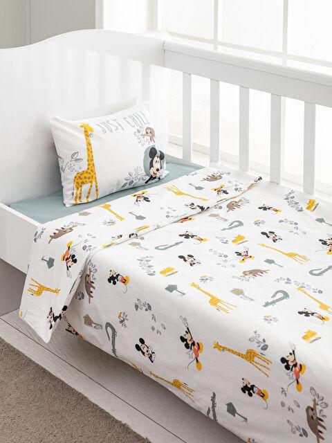 Mickey Mouse Lisanslı Bebek Nevresim Takımı - LCW HOME