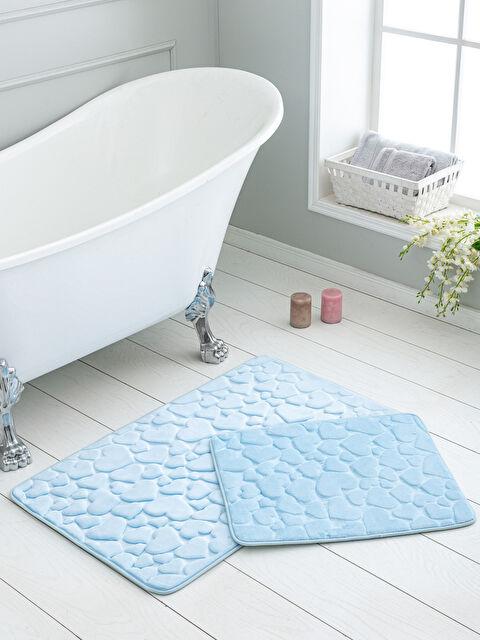 Kalp Desenli Banyo Paspası 2'li - LCW HOME