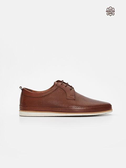 Erkek Bağcıklı Deri Ayakkabı - LC WAIKIKI
