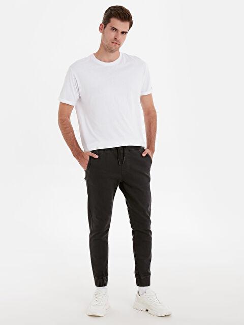 Slim Fit Gabardin Bilek Boy Pantolon - LC WAIKIKI
