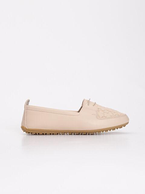 Kadın Çiçek Desenli Klasik Ayakkabı - LC WAIKIKI