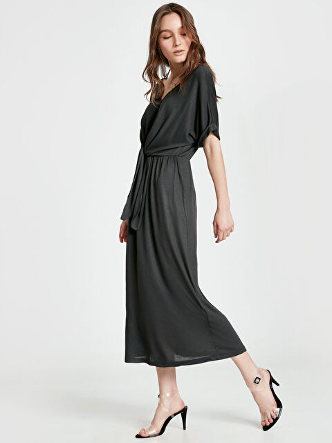 Beli Bağlama Detaylı Salaş Elbise - LC WAIKIKI