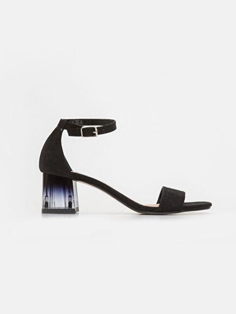 Kadın Süet Görünümlü Topuklu Ayakkabı - LC WAIKIKI