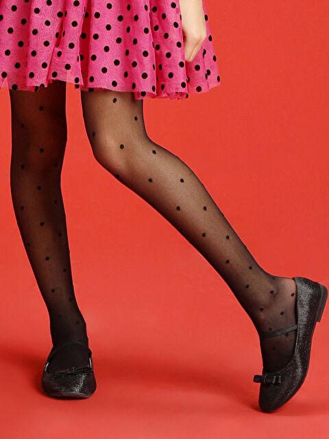 23 Nisan Kız Çocuk Külotlu Çorap - LC WAIKIKI