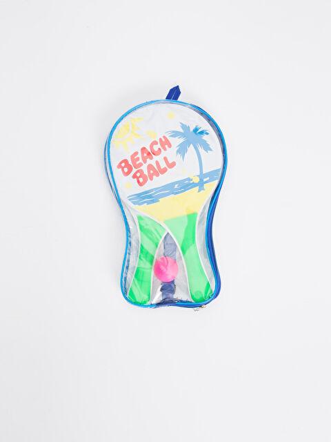 Kız Çocuk Çantalı Plaj Raket Seti - LC WAIKIKI