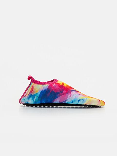 Kız Çocuk Kontrast Renkli Deniz Ayakkabısı - LC WAIKIKI