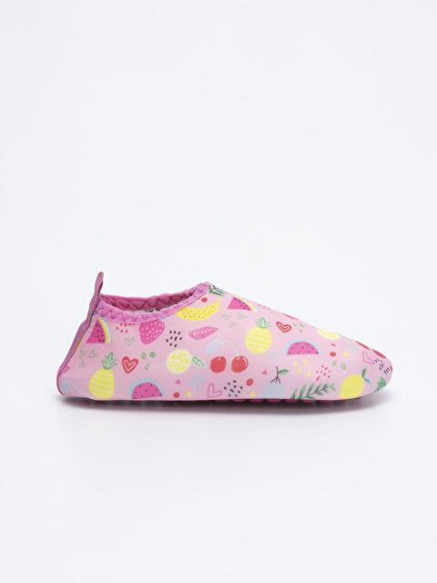 Kız Çocuk Baskılı Deniz Ayakkabısı - LC WAIKIKI