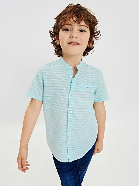 Erkek Çocuk Poplin Gömlek - LC WAIKIKI