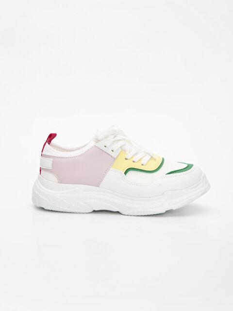 Kız Çocuk Kalın Taban Spor Ayakkabı - LC WAIKIKI